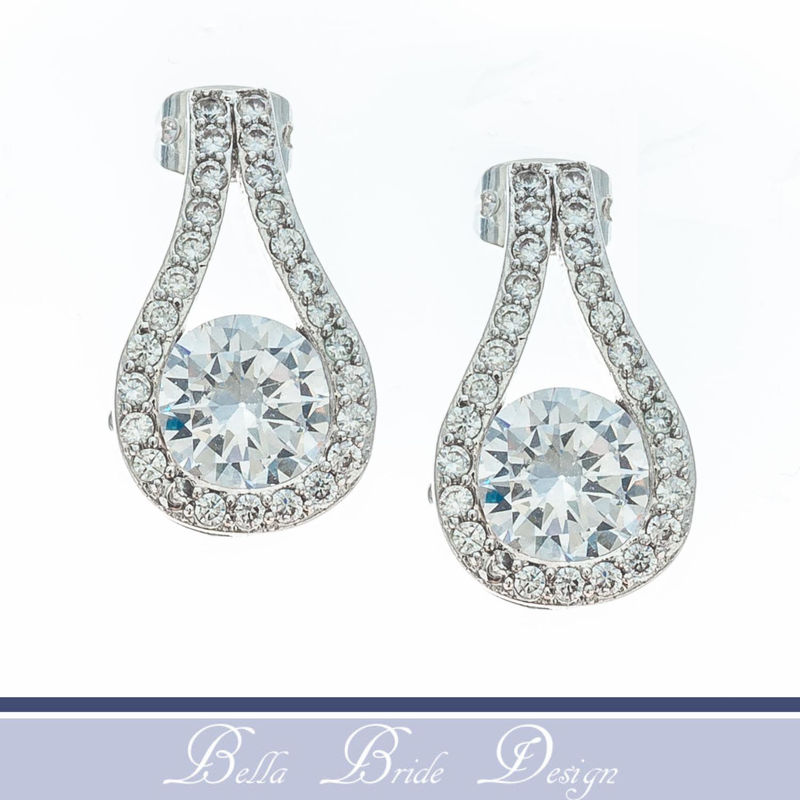 Ashley Bridal Earrings - product image