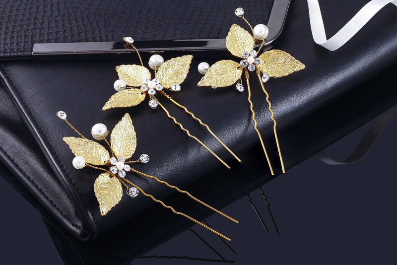 Emery Bridal Hair Pins - product image