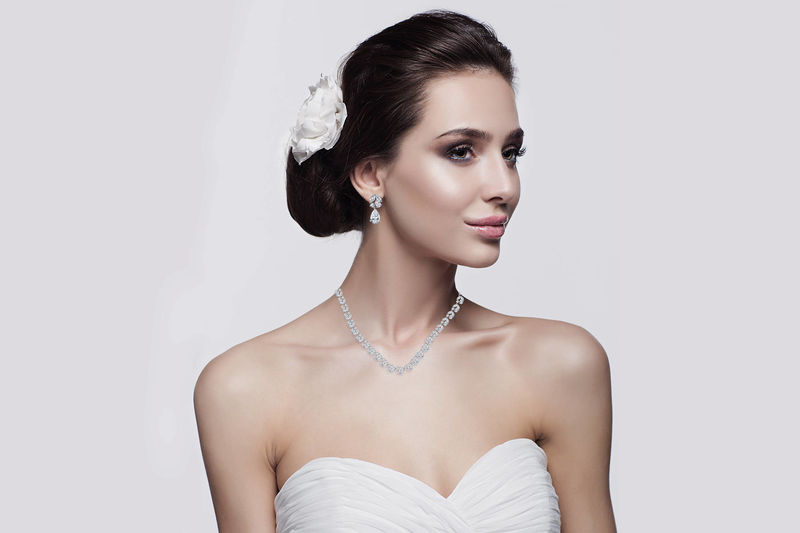 Talia Bridal Necklace Set  - product image