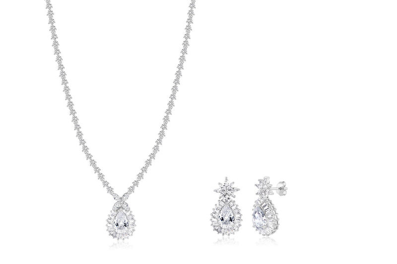 Luciana Bridal Necklace Set  - product image
