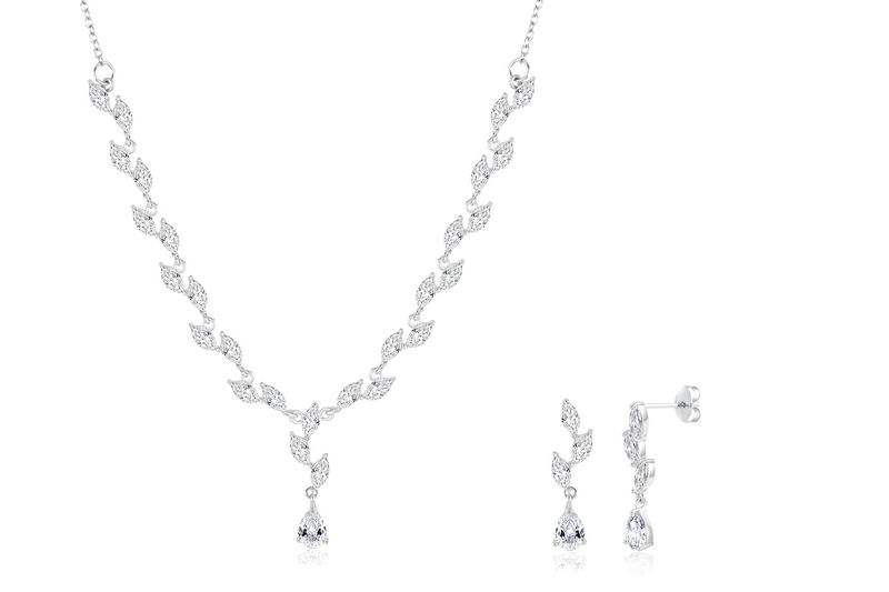 Jennifer Bridal Necklace Set  - product image