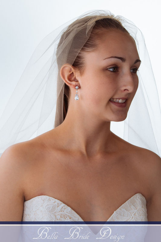 Eleanor Bridal Earrings - product image