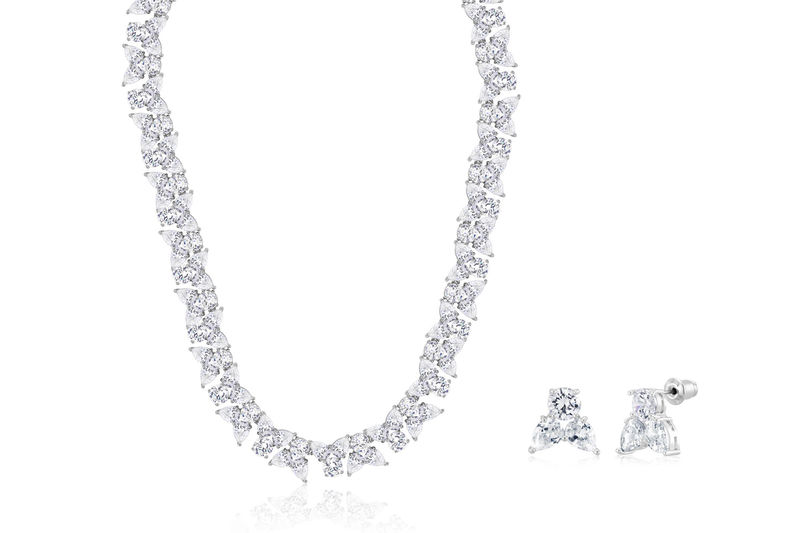 Genevieve Bridal Necklace Set  - product image