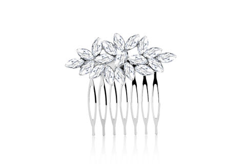 Abigail,Bridal,Hair,Comb,Weddings,Accessories,bridal_hair_comb,wedding_hair_comb,rhinestone_hair_comb,silver_hair_comb,crystal_hair_comb,crystal_comb,bridal_comb,wedding_comb,wedding_hair_piece,bridal_hair_piece,bridesmaid_hair_comb,silver_comb,wedding_veil_comb