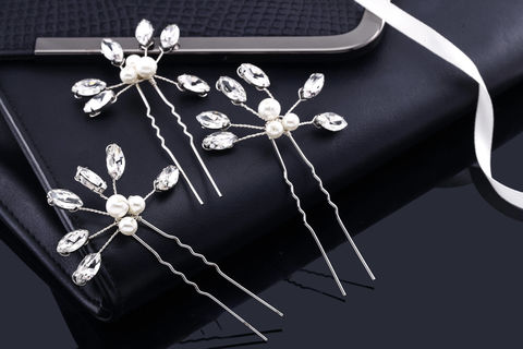 Clara,Bridal,Hair,Pins,Weddings,Accessories,pearl_hair_pins,crystal_hair_pins,wedding_hair_pins,bridal_hair_pins,hair_jewelry,bridal_hair_jewelry,crystal_pins,pearl_pins,bridal_hair_clip,crystal_comb,bridal_comb,wedding_comb,rhinestone_comb