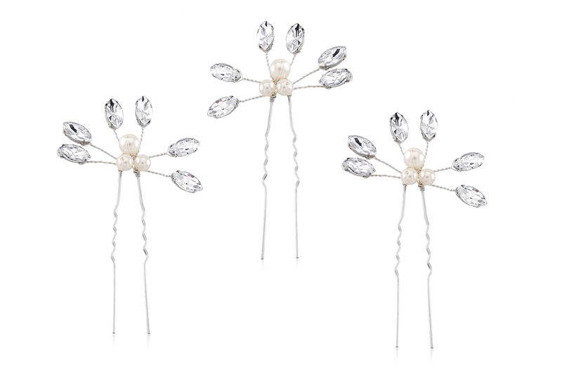 Clara Bridal Hair Pins  - product image