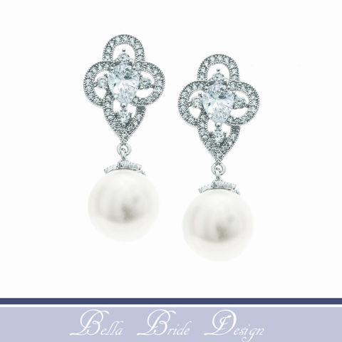 Mary,Bridal,Earrings,Weddings,Jewelry,pearl_earrings,bridal_earring,crystal_earrings,cz_earring,cubic_zirconia,bridal_jewelry,wedding_earring,anniversary_gift,sparkly_earrings,bridal_jewellery,dressy_earrings,bling_earrings,pageant_earrings