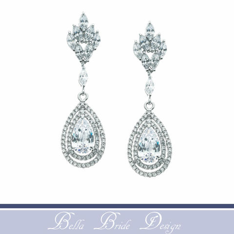 Laney,Bridal,Earrings,Weddings,Jewelry,prom_earrings,bridal_earring,crystal_earrings,cz_earring,cubic_zirconia,bridal_jewelry,wedding_earring,tear_drop_earring,bridesmaid_earrings,wedding_jewelryd,dangle_earrings,statement_earrings,bridesmaid_gift,Cubic Zirconia,White Gold