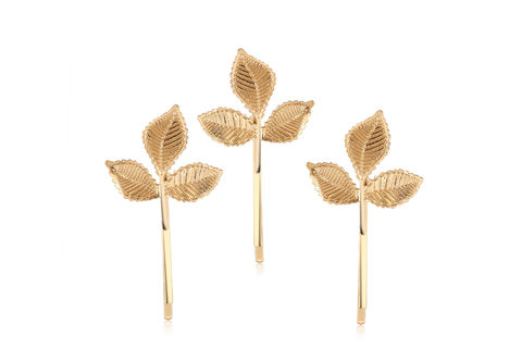 Leaf,Bridal,Hair,Pins,Weddings,Accessories,leaf_hair_pins,gold_hair_pins,gold_leaf_pins,leaf_hair_picks,gold_bobby_pins,bridesmaids_hair_pin,wedding_hair_pins,bridal_hair_pins,bridal_pins,wedding_pins,crystal_pins,gold_hair_accessory,bridal_hair_picks