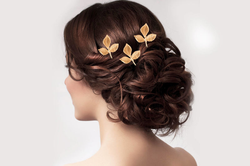 Leaf Bridal Hair Pins - product image