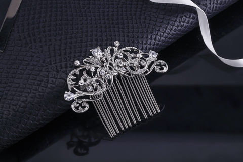Lara,Bridal,Hair,Comb,Weddings,Accessories,bridal_hair_jewelry,crystal_hair_jewelry,wedding_hair_jewelry,rhinestone_comb,crystal_comb,vintage_bridal_comb,veil_hair_comb,hair_pin,wedding_hair_pin,bridal_hair_pin,crystal_bridal_comb,wedding_hair_piece,bridal_hair_piece