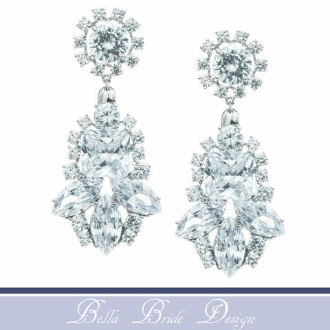Danielle,Bridal,Earrings,Weddings,Jewelry,Rhinestone_Earrings,Bridal_Jewelry,Wedding_Jewelry,Chandelier_Earrings,Crystal_Earrings,Crystal_Jewelry,Wedding_Accessories,Swarovski_Earrings,bridal_earring,wedding_earring,cz_earring,statement_earrings,drop_earrings,Cubic Zirconia,White