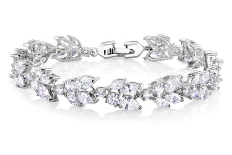 Margaret,Bridal,Bracelet,Weddings,Jewelry,classic_bracelet,bridal_bracelet,wedding_bracelet,bridesmaids_bracelet,bridesmaids_jewelry,wedding_jewelry,silver_bracelet,CZ_bracelet,bridal_jewelry_set,statement_bracelet,rhinestone_bracelet,crystal_bracelet,crystal_cuff