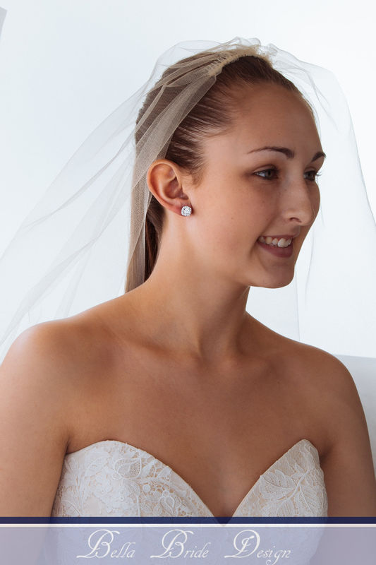 Alicia Bridal Earrings - product image