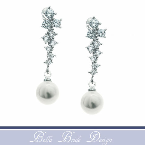 Teagan,Bridal,Earrings,Weddings,Jewelry,bridal_earrings,wedding_earrings,crystal_earrings,bridesmaids_earrings,bridal_jewelry,white_gold_earrings,cz_earrings,cz_wedding_jewelry,cz_pearl_earrings,crystal_cz_jewelry,pearl_earrings,pearl_jewelry,wedding_jewelry