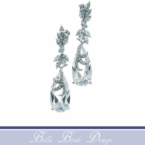 Marisa,Bridal,Earrings,Weddings,Jewelry,rhinestone_earrings,crystal_earrings,white_gold_earrings,CZ_Earrings,chandelier_earrings,wedding_earrings,bridal_jewelry,statement_earrings,wedding_jewelry,post_earrings,zirconia_earrings,bridal_earrings,drop_earrings