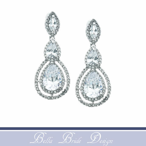 Sloane,Bridal,Earrings,Weddings,Jewelry,bridal_earrings,wedding_earrings,crystal_earrings,wedding_jewelry,bridal_jewelry,rhinestone_earrings,statement_earrings,chandelier_earrings,white_gold_earrings,cubic_zircon_earring,drop_earrings,cz_earrings,prom_earrings