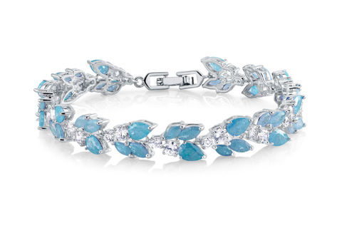 Rowan,Bridal,Bracelet,Weddings,Jewelry,light_blue_bracelet,wedding_bracelet,CZ_bracelet,bridesmaids_bracelet,bridesmaids_jewelry,prom_bracelet,crystal_bracelet,CZ_jewelry,statement_bracelet,something_blue,nickel_free_bracelet,rhinestone_bracelet,classic_bracelet