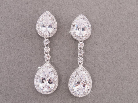 Leighton,Bridal,Earrings,Weddings,Jewelry,bridal_earrings,rhinestone_earrings,crystal_earrings,wedding_earrings,statement_earrings,chandelier_earrings,white_gold_earrings,bridal_jewelry,wedding_jewelry,cz_earrings,crystal_drop_earring,prom_jewelry,dangle_earrings