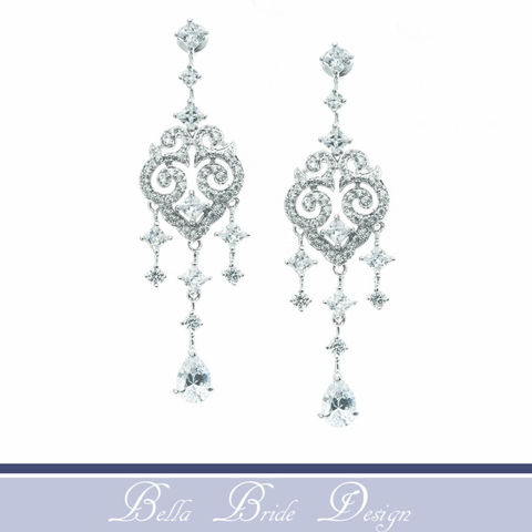 Hazel,Bridal,Earrings,Weddings,Jewelry,rhinestone_earrings,wedding_earrings,wedding_jewelry,swarovski_earrings,chandelier_earrings,white_gold_earrings,crystal_earrings,bridesmaids_earrings,drop_earrings,bridal_jewelry,silver_earrings,bridal_earrings,statement_earrings
