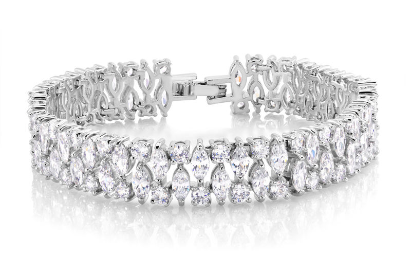 Veronica Bridal Bracelet - product image