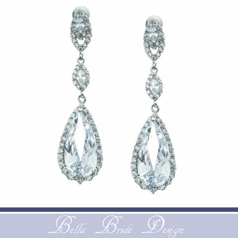 Parker,Bridal,Earrings,Weddings,Jewelry,crystal_earrings,cz_earrings,cubic_zirconia,bridal_earring,bridal_jewelry,wedding_earring,dangle_earrings,crystal_jewelry,chandelier_earrings,rhinestone_earrings,statement_earrings,long_earrings,teardrop_earrings,cubic zirconia,white gold