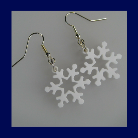 Acrylic,snowflake,earrings,for,your,Snow,Queen,Frozen,white,or,ice,blue,-,seasonal,winter,hen,party,gift,FREE,UK,post,Jewelry,hen_party_gift,Frozen_style,ice_blue_earrings,white_earrings,delicate_earrings,mismatched,Frozen_earrings,snowflake_earrings,acrylic_earrings
