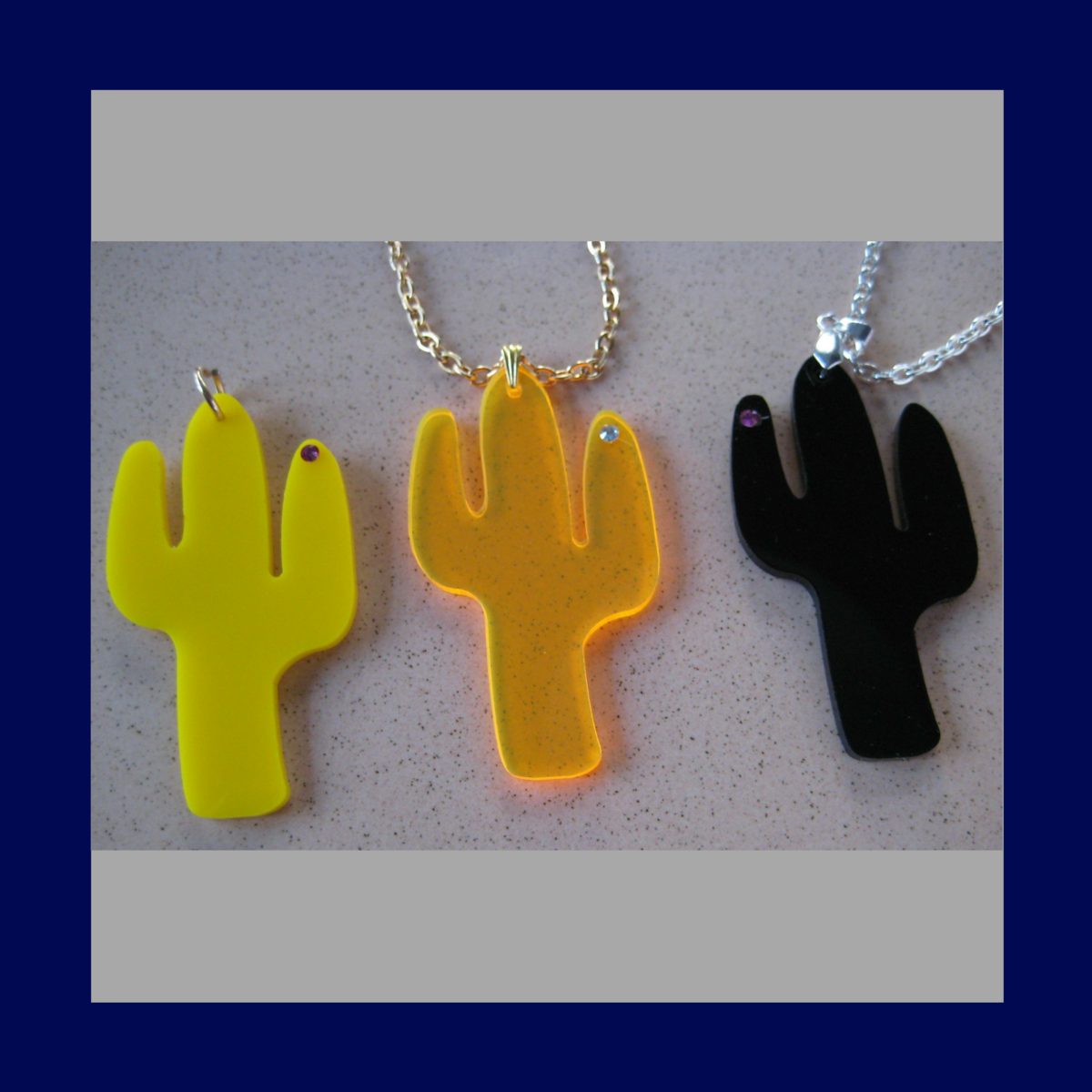 Large Cactus charms  - product images  of