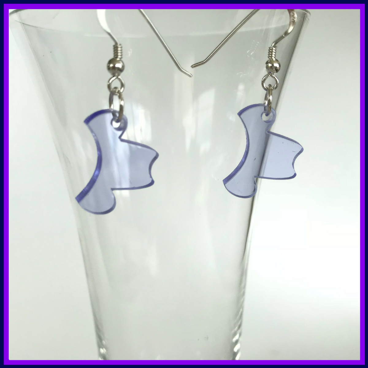 Cowboy hat earrings FREEPOST UK - product images  of
