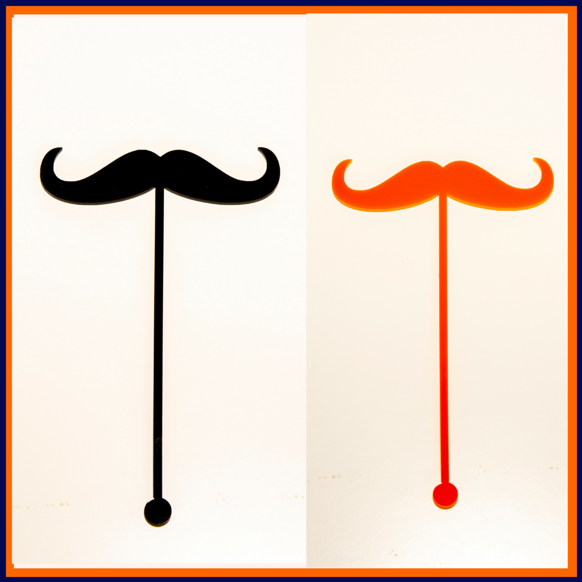 Moustache Cocktail Stirrer FREEPOST UK - product images  of