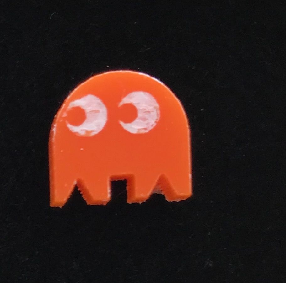 PAC-MAN set of five stud earrings  UK FREEPOST - product images  of