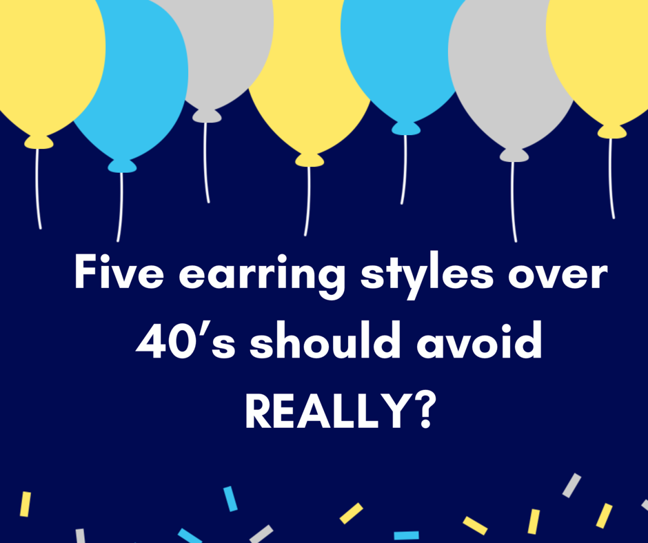 Earrings over 40