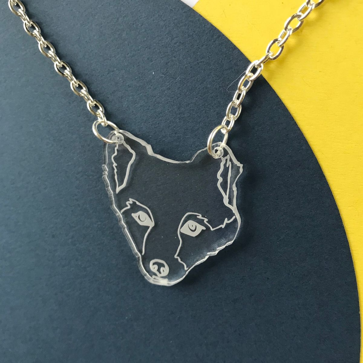 Arctic Fox Necklace FREEPOST UK - product images  of