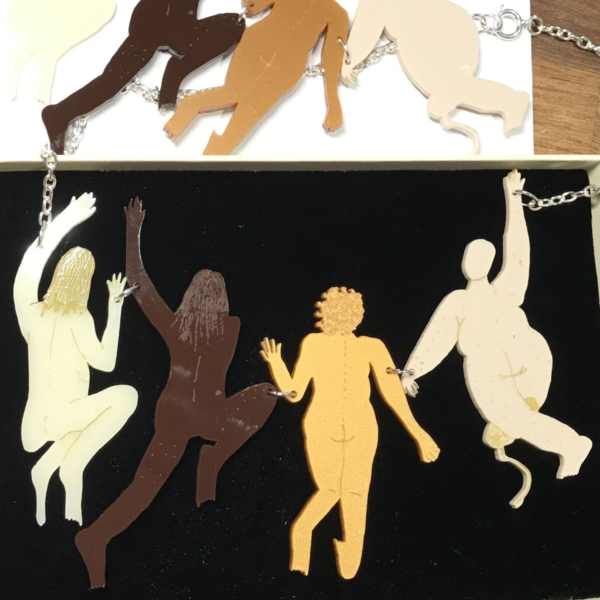 Jumping out of the Patriarchy Necklace - product images  of