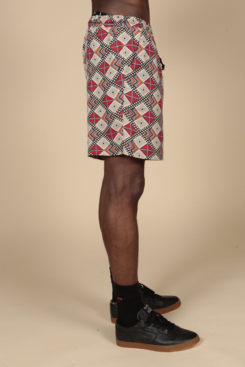 Red Diamond Aztec Shorts - product images  of