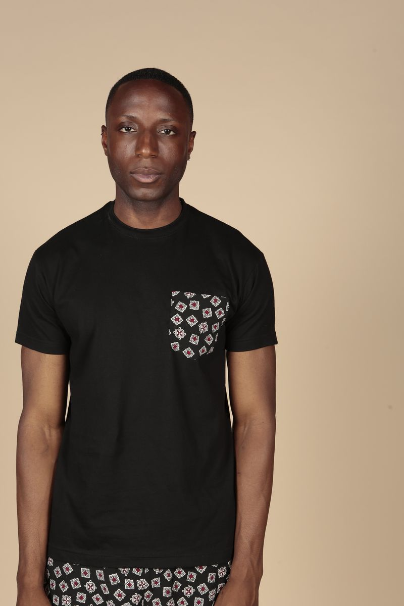 Black Pocket Tee  - product images  of
