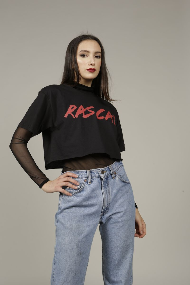 Cropped Rascal T-Shirt  - product images  of