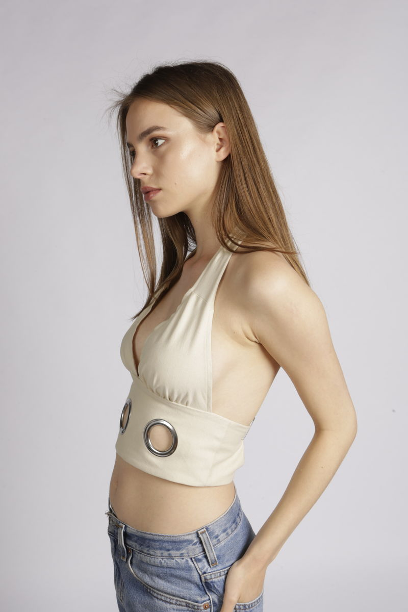 Sylvie Eyelets Top  - product images  of