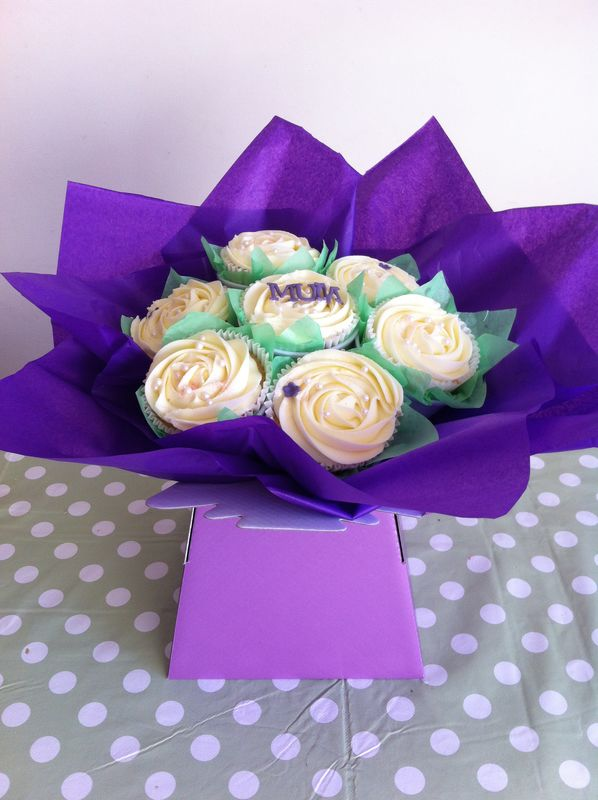 Mothers day purple bouquet - product images  of