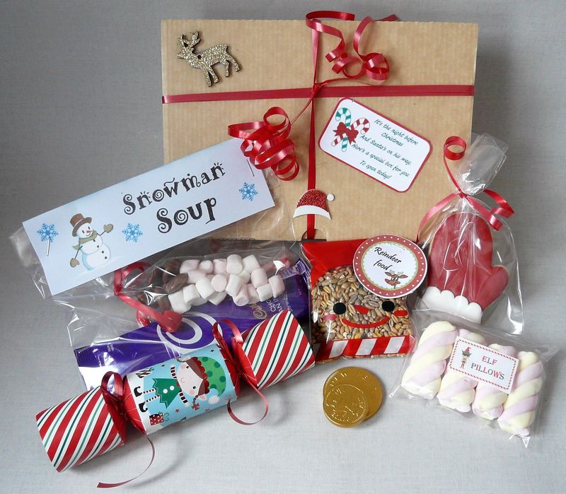 Xmas eve box - product images  of