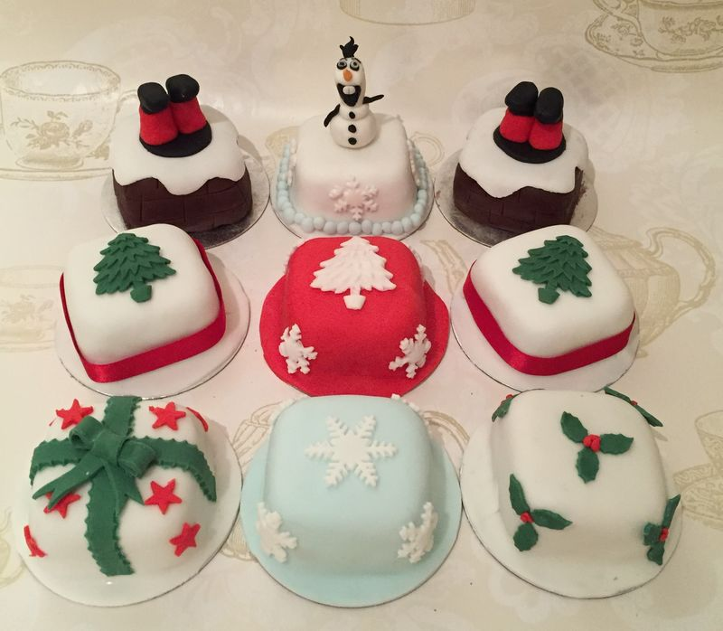 xmas cakes - product images  of