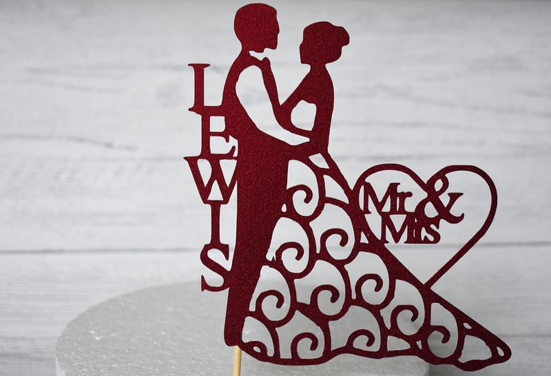 Personalised Bride and groom - product images  of