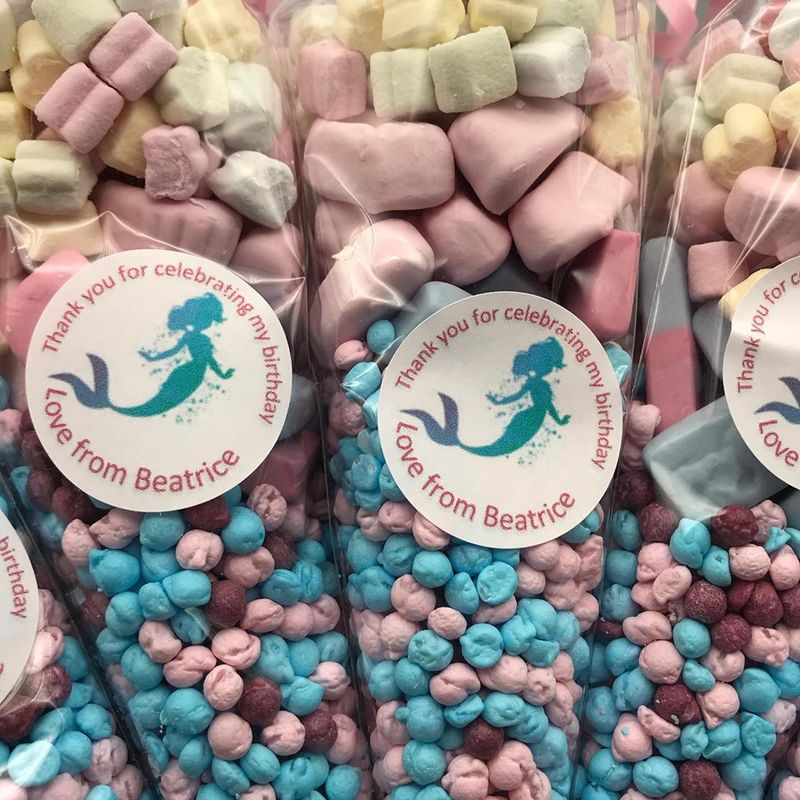Mermaid themed sweet-cones - product images  of