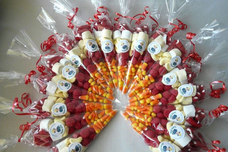 Fireman themed sweetcones - product images  of