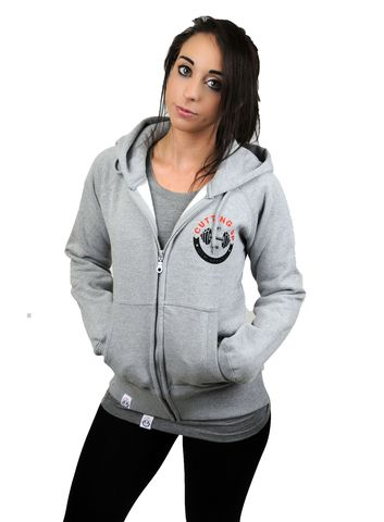 WOMENS,PREMIUM,CLASSIC,LOGO,ZIPPED,HOODIE,Hoodie,hooded top