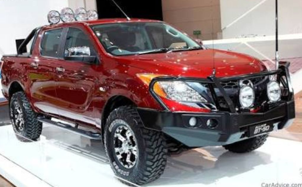 2012-current Mazda BT50 Bonnet strut kit - product images  of