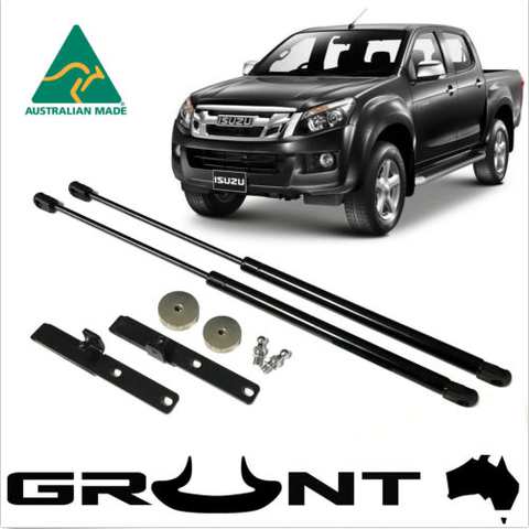 Dmax,bonnet,strut,kit,Dmax bonnet