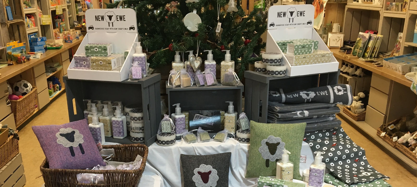 New Ewe Spa Product Range at a Pop Up Shop