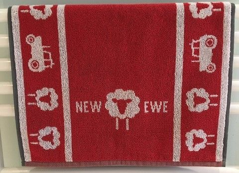 NEW EWE Hand Towel - Red - product image