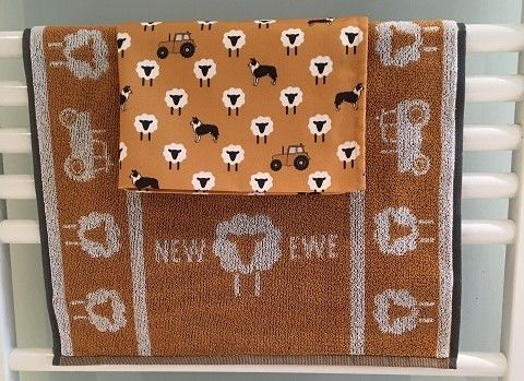 NEW EWE Hand Towel & Tea Towel - product images  of